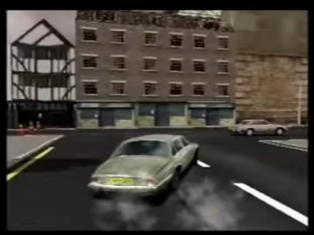 Scene from the game Driver
